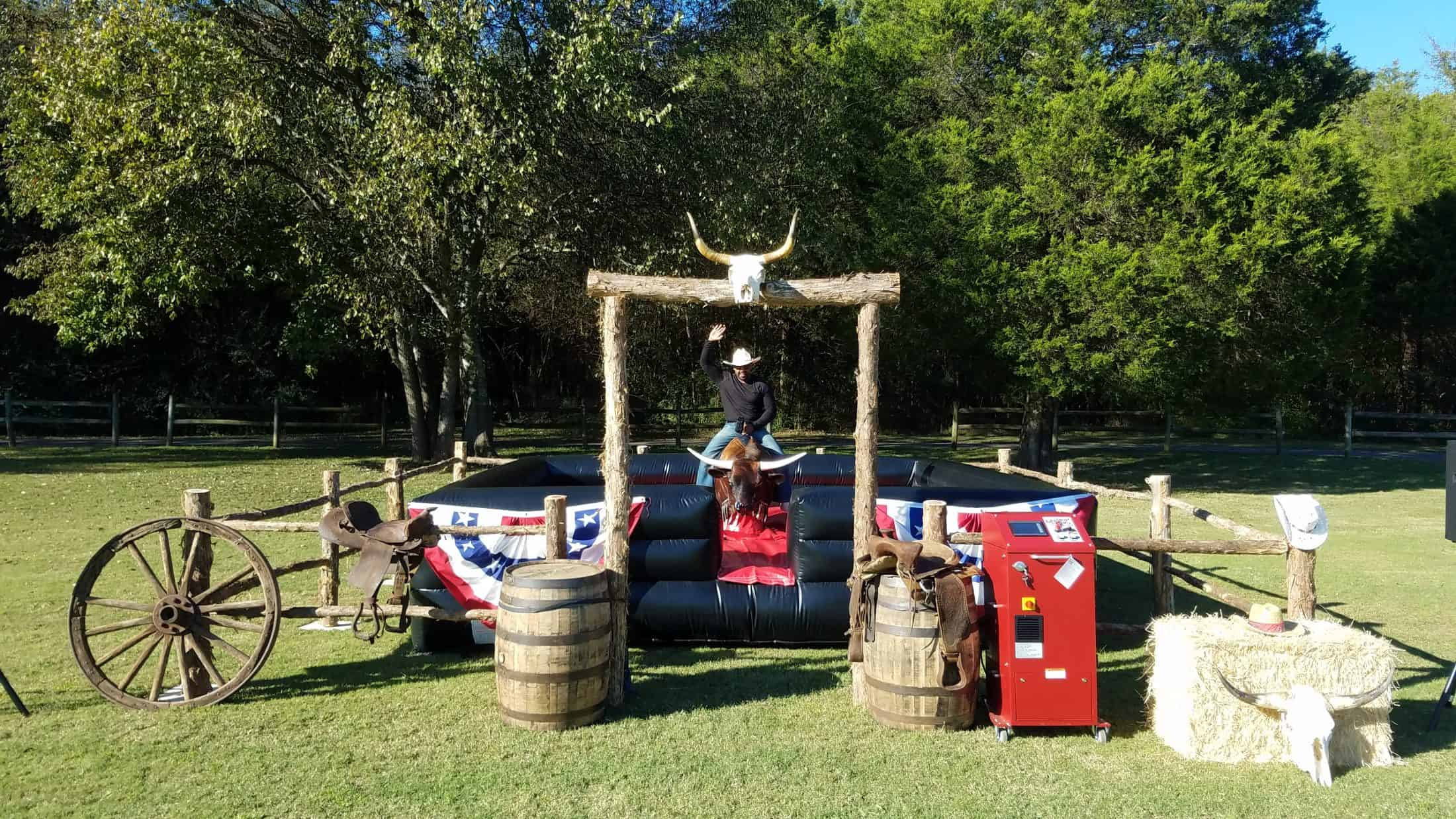 Bull Riding Rentals Nashville