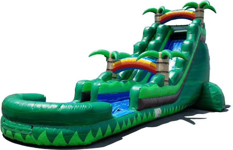 Bouncy water slides for rent