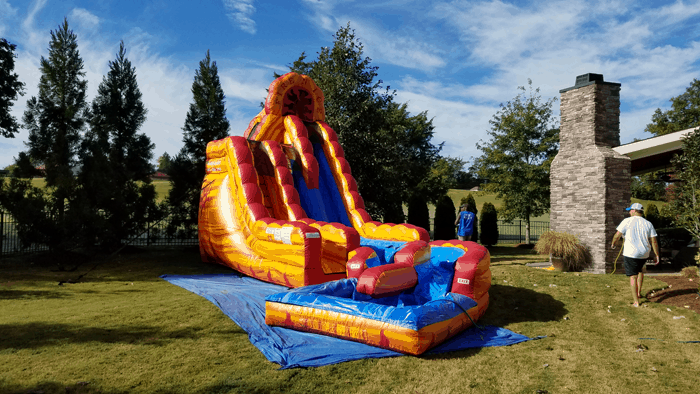 Fire N Ice Water Slide