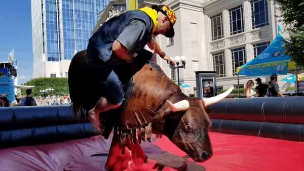 Mechanical Bull Rentals nashville