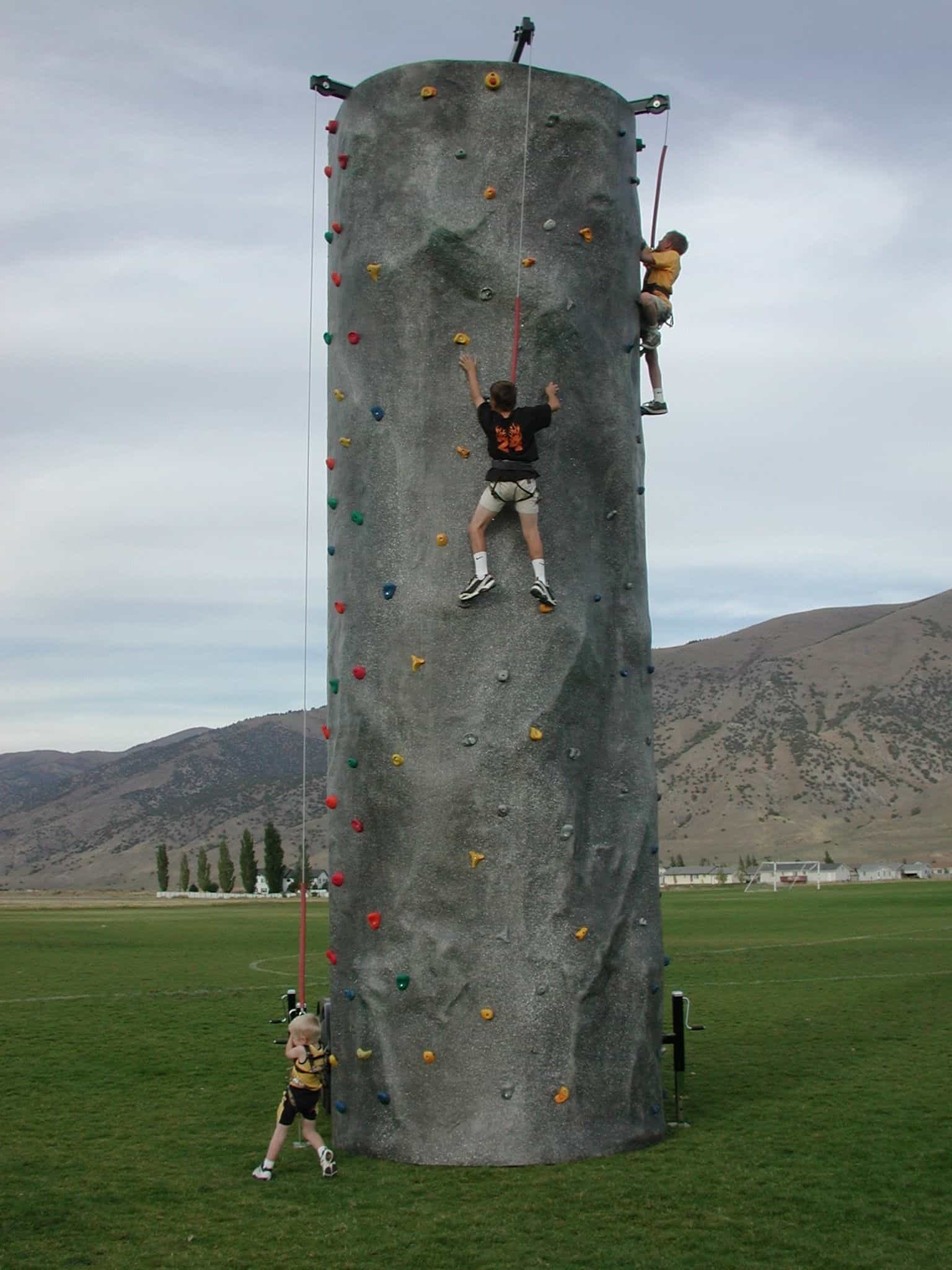 24 FT Rock Climbing Wall | Mobile Rock Wall Rentals | Best Prices