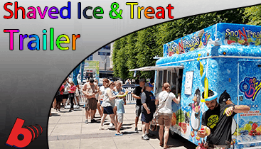 Shaved ice Truck Rentals