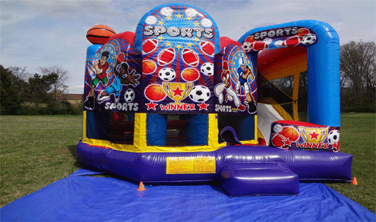 combo bouncy rental