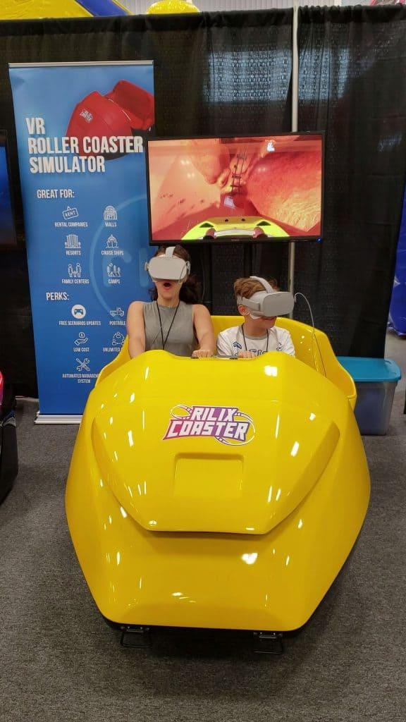 VR Roller Coaster Rentals